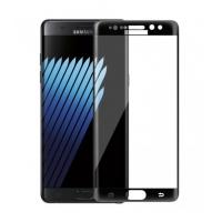 Folie protectie sticla securizata curbata Samsung Galaxy Note 7 ,negru