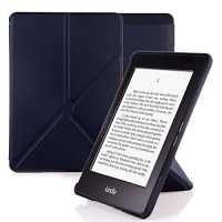 Husa de protectie flip cover eBook Reader Kindle Glare, negru