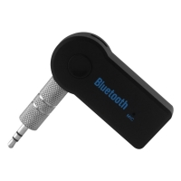 Receptor car kit auto stereo bluetooth 3.5mm aux, negru