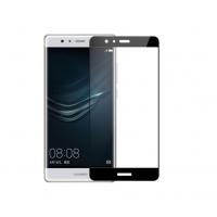 Folie protectie sticla securizata full size pentru Huawei P10 lite fullsize, negru