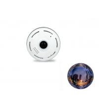 Mini camera video wireless panoramica 360 wifi 2MP , alb