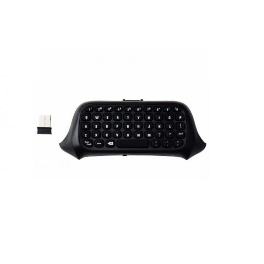 Tastatura chatpad Dobe wireless bluetooth compatibila cu controllerul pentru XBOX One, negru