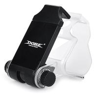 Suport/stand pentru telefon clamp Dobe pentru controller PlayStation PS4, negru