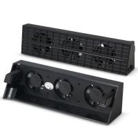 Cooler Fan Dobe pentru PlayStation PS4 SLIM cu 3 ventilatoare, negru