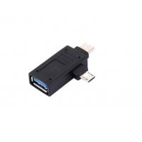 Mini usb 3.0 convertor adaptor Type-c 3.1 la micro usb, negru