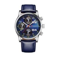 Ceas casual barbatesc Curren Quartz  8207-2, albastru