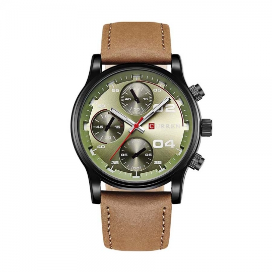 Ceas casual barbatesc Curren Quartz  8207-3, verde
