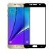Folie protectie sticla securizata fullsize pentru Samsung Galaxy Note 5, negru