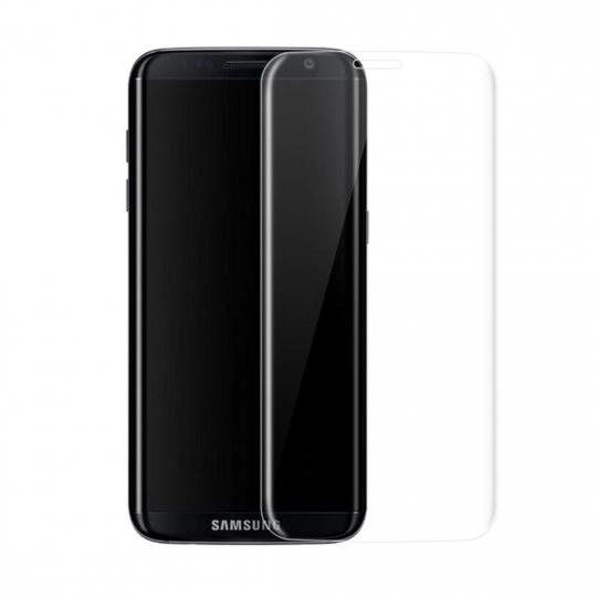 Folie sticla securizata 4D curbata pentru Samsung Galaxy S8 ,transparenta