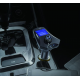 Car kit auto cu functie modulator fm dual usb 3.1A M7S, negru