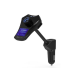Car kit auto cu functie modulator fm dual usb 3.1A M7, negru