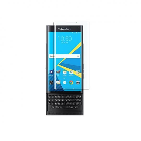 Folie protectie sticla securizata full size curbata pentru Blackberry Priv, transparent