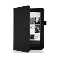 Husa de protectie flip cover PocketBook Touch Lux 2 / 3 E Ink Carta / PocketBook Basic 3 / Basic Lux 6 inch, negru