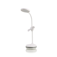 Lampa LED cu ventilator si Touch Sensitive Remax RT-E601, alb