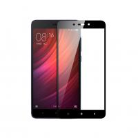 Folie protectie sticla securizata full size pentru Xiaomi Redmi Note 5A / Y1 Lite, negru