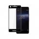 Folie protectie sticla securizata 3D curbata pentru Google Pixel 2, negru