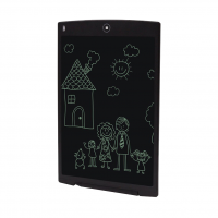 Tableta digitala 12 inch pentru scris si desenat cu ecran LCD, negru