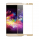 Folie protectie sticla securizata full size pentru Huawei Mate 10 Pro, auriu