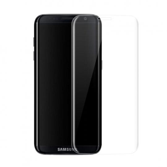 Folie protectie sticla securizata 3D curbata pentru Samsung S9, transparent