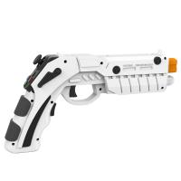 Pistol AR Shooting Gun joystick IPEGA PG-9082 bluetooth pentru smartphone android / PC, alb