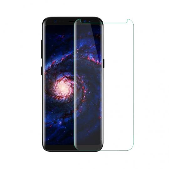 Folie protectie sticla securizata 3D curbata pentru Samsung Galaxy S9 Plus, transparent