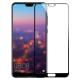 Folie protectie sticla securizata full size pentru Huawei P11 / P20 Pro, negru
