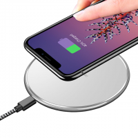 Incarcator wireless universal Dux Ducis QI charging pad ultra subtire, alb