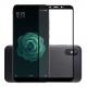 Folie protectie sticla securizata full size pentru Xiaomi Mi 6X / A2, negru