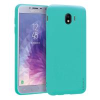 Husa KRASSUS pentru Samsung Galaxy J4 2018 din silicon mat, turcoaz