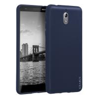 Husa KRASSUS pentru Nokia 3.1 din silicon mat, dark blue