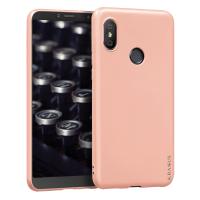 Husa KRASSUS pentru Xiaomi Redmi S2 din silicon mat, light coral