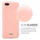 Husa KRASSUS pentru Xiaomi Redmi 6A din silicon mat, light coral