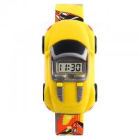 Ceas Skmei 1241 sport pentru copii model masina detasabila cu data si calendar complet, galben