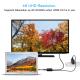 Adaptor convertor 3 in 1 USB 3.1 Type-C la HDMI 4K@60Hz, USB 3.0 si port de incarcare USB Type-C, negru