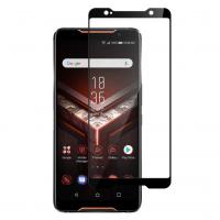 Folie protectie pentru Asus ROG Phone din sticla securizata full size, negru