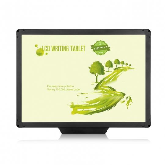 Tableta digitala 20 inch pentru scris si desenat cu ecran LCD, negru
