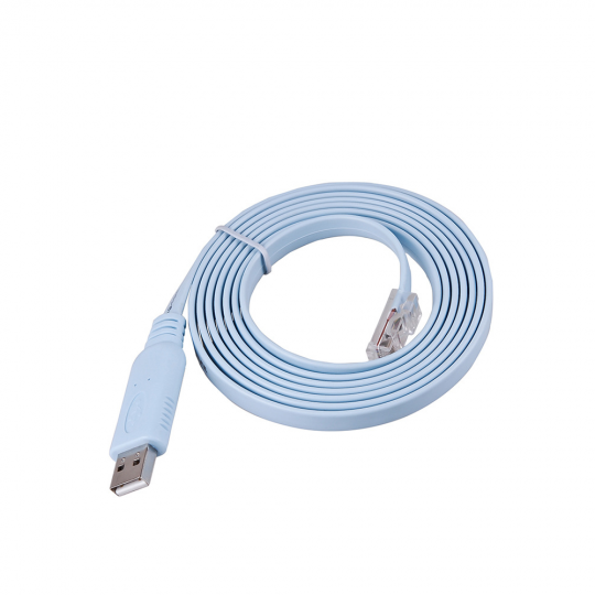 Cablu adaptor USB 2.0 tip A tata la RJ45 ethernet tata pentru router / switch , 1.8 m