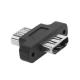 Adaptor extensie HDMI mama - HDMI mama 1.4 1080p cu sistem de printere in suruburi