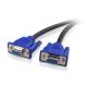Cablu adaptor splitter VGA tata la 2 VGA mama, 30cm