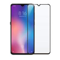 Folie protectie pentru Xiaomi Mi 9 din sticla securizata full size, negru