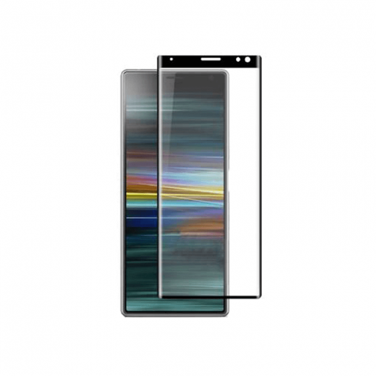 Folie protectie pentru Sony Xperia 10 din sticla securizata full size, negru