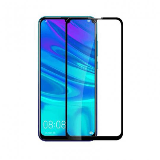 Folie protectie pentru Huawei Y7 Pro 2019 din sticla securizata full size, negru