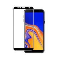 Folie protectie pentru Samsung J4 Plus 2018 din sticla securizata full size, negru