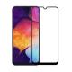 Folie protectie pentru Samsung Galaxy A30 din sticla securizata full size, negru