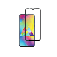 Folie protectie pentru Samsung Galaxy M20 din sticla securizata 3D curbata, negru