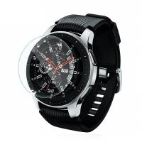 Set 3 folii de protectie din sticla securizata pentru Samsung Galaxy Watch 46mm, Gear S3 Classic / Frontier, transparent
