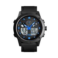 Ceas barbatesc sport SKMEI 1514 waterproof 5ATM dual time, afisaj data, alarma, cronometru si iluminare  , negru