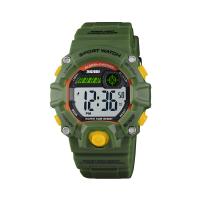 Ceas de copii sport SKMEI 1484 waterproof 5ATM cronograf, alarma, data si iluminare cadran, verde