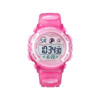 Ceas de copii sport SKMEI 1451 waterproof 5ATM cu cronometru,alarma, data si iluminare ecra, roz