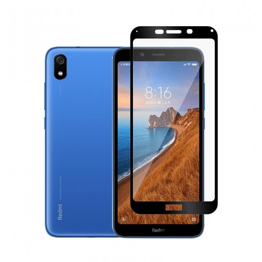 Folie protectie full size HIMO din sticla securizata pentru Xiaomi Redmi 7A, negru